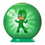 Ravensburger-79958-11924-02 Puzzle Ball 3D - PJ Masks