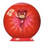 Ravensburger-79958-11924-03 Puzzle Ball 3D - PJ Masks
