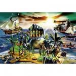Schmidt-Spiele-56020 Playmobil : L'île aux pirates