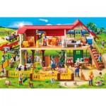 Schmidt-Spiele-56163 Playmobil, La Ferme avec une Figurine Playmobil