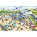 Schmidt-Spiele-56206 Une Journée à l'Aéroport