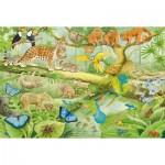 Schmidt-Spiele-56250 Animaux dans la forêt tropicale