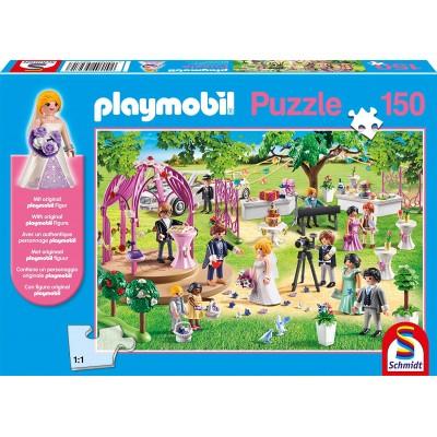 Schmidt-Spiele-56271 Playmobil - Mariage