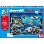 Schmidt-Spiele-56272 Playmobil - Top Agents