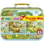 Schmidt-Spiele-56494 4 Puzzles - Medizini