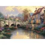 Schmidt-Spiele-57466 Thomas Kinkade - Le Vieux Pont