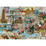 Schmidt-Spiele-58205 L'Europe en Ballon