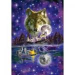 Schmidt-Spiele-58233 Loup au Clair de Lune