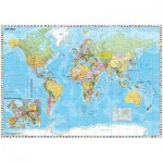 Schmidt-Spiele-58289 Carte du Monde en Allemand