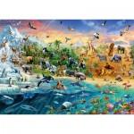 Schmidt-Spiele-58324 Le Monde des Animaux