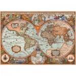 Schmidt-Spiele-58328 Vieille Carte du Monde