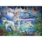 Schmidt-Spiele-58349 Loups dans la Forêt d'Hiver