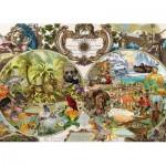 Schmidt-Spiele-58362 Carte du Monde Exotique