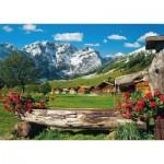 Schmidt-Spiele-58368 Vue sur l'Idylle de la Montagne