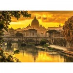 Schmidt-Spiele-58393 Golden Light over Rome