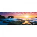 Schmidt-Spiele-59289 Mark Gray : Australie, Coucher de soleil sur Bridgwater Bay