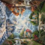 Schmidt-Spiele-59295 Thomas Kinkade : Chapelle en montagne
