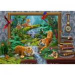 Schmidt-Spiele-59337 Jan Patrik Krasny, Coming to Life, Tigre dans la Jungle