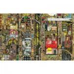 Schmidt-Spiele-59355 Colin Thompson: Paysage Urbain Fantastique