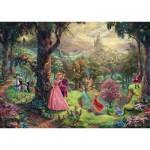 Schmidt-Spiele-59474 Thomas Kinkade - Disney, La Belle au Bois Dormant
