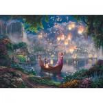 Schmidt-Spiele-59480 Thomas Kinkade - Disney Raiponce