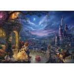 Schmidt-Spiele-59484 Thomas Kinkade - Disney, La Belle et la Bête