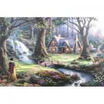 Schmidt-Spiele-59485 Thomas Kinkade - Disney, Blanche Neige
