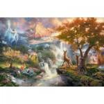 Schmidt-Spiele-59486 Thomas Kinkade - Disney, Bambi