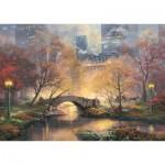 Schmidt-Spiele-59496 Thomas Kinkade - Central Park en Automne