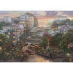Schmidt-Spiele-59497 Thomas Kinkade - San Francisco, Lombard Street II