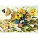 Schmidt-Spiele-59573 Fleurs de Printemps