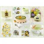 Schmidt-Spiele-59575 Buffet de Gâteaux Vert Printemps