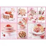 Schmidt-Spiele-59576 Gâteaux Roses du Bonheur