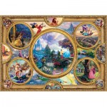 Schmidt-Spiele-59607 Thomas Kinkade - Disney Dreams Collection