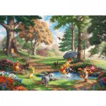 Schmidt-Spiele-59689 Thomas Kinkade - Disney - Winnie l'Ourson