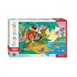 Step-Puzzle-73006 Le Lion et la Tortue