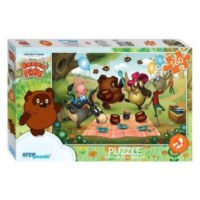 Step-Puzzle-78084 Winnie l'Ourson