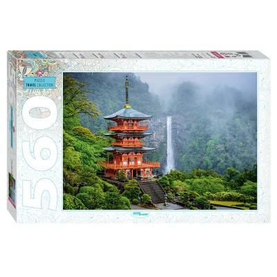 Step-Puzzle-78094 Temple Seiganto-ji & Nachi Falls