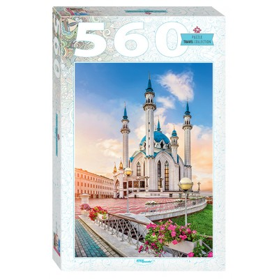 Step-Puzzle-78096 Kul Sharif Mosque in Kazan