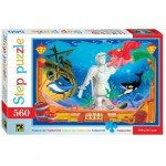 Step-Puzzle-78100 La Petite Sirène