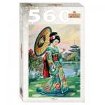 Step-Puzzle-78109 Femme Japonaise