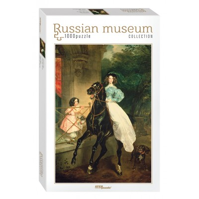 Step-Puzzle-79212 Russian Museum - Brullov. Horsewoman