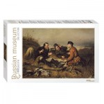 Step-Puzzle-79216 Russian Museum - Perov. Hunters stop to Rest