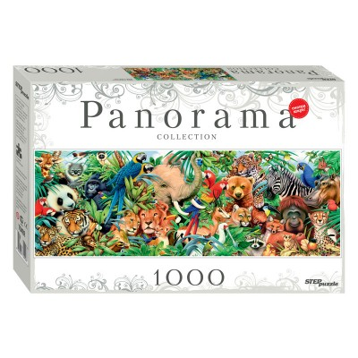 Step-Puzzle-79402 World of Animals