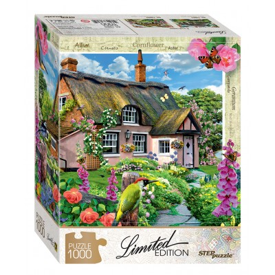 Step-Puzzle-79805 Pink Cottage