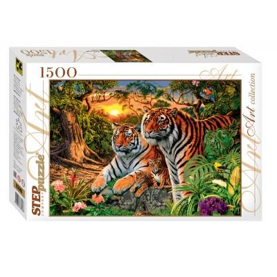 Step-Puzzle-83048 Combien de Tigres ?