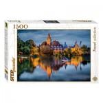 Step-Puzzle-83050 Le Château au bord du Lac