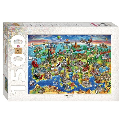 Step-Puzzle-83059 Attractions of Europe
