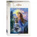 Step-Puzzle-83061 La Femme et les Loups