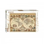 Step-Puzzle-84003 Vieille Carte du Monde